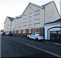 ST0894 : Three-storey block of flats, Station Road, Abercynon by Jaggery