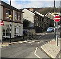 ST0894 : Zebra crossing, Ynysmeurig Road, Abercynon by Jaggery