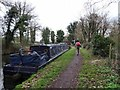 SO8685 : Bojangles mooring by Gordon Griffiths