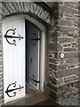 SD3097 : Coniston, St Andrew's Church, Door showing 1GL Bolt by thejackrustles