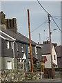 SH6068 : Stench pipe on Ffordd Tanrhiw, Tregarth by Meirion