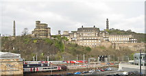 NT2674 : Edinburgh skyline - Calton Hill from Jeffrey Street by M J Richardson