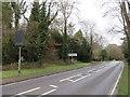 TQ2355 : Dorking Road, near Tadworth by Malc McDonald