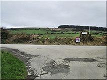 S8036 : Road Junction by kevin higgins
