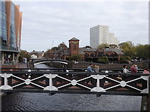 SP0586 : Old Turn Junction, Birmingham Canal, Birmingham by Rudi Winter