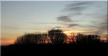 SX9066 : Sunset, Nightingale Park by Derek Harper