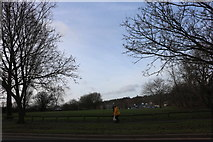 SP4441 : Park by Ruscote Avenue, Banbury by David Howard