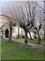 SP2868 : All Saints, Leek Wootton: churchyards (d) by Basher Eyre