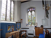 SP2760 : Inside St Peter, Barford (F) by Basher Eyre