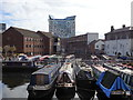 SP0686 : Gas Street Basin and Worcester Bar, Birmingham by Rudi Winter