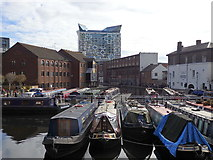 SP0686 : Gas Street Basin and Worcester Bar, Birmingham by Rudi Winter