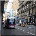 SP0686 : Tram outside New Street Station, Birmingham by Rudi Winter