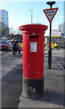 TA0828 : George V postbox on Anlaby Road, Hull by JThomas