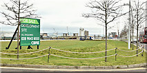 J3575 : The Plater's Yard site, Titanic Quarter, Belfast - February 2019(1) by Albert Bridge
