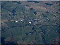 NS7608 : Sanquhar from the air by Thomas Nugent