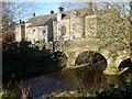 SK2572 : The River Derwent at Baslow Old Bridge by Graham Hogg