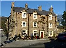 SK2572 : The Wheatsheaf Hotel, Baslow by Graham Hogg