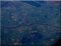 NX9669 : The River Nith from the air by Thomas Nugent