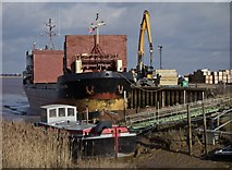 TA0623 : Sheksna at Barrow Haven by Paul Harrop