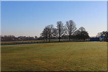 SE3634 : Cross Gates Cricket Club by Chris Heaton