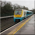 SM9515 : Manchester Piccadilly train arrives at Haverfordwest station by Jaggery