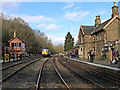 SO7483 : Severn Valley Railway at Highley in Shropshire by Roger  Kidd