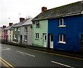 SM9516 : Dark blue and light green, Prendergast, Haverfordwest by Jaggery