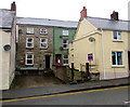 SM9516 : Houses set back from Prendergast, Haverfordwest by Jaggery