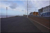 SD3036 : Lancashire Coastal Way, Promenade, Blackpool by Ian S