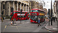 TQ2982 : Buses, London by Rossographer