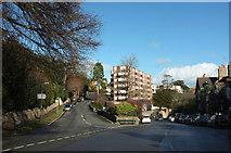 SX9364 : Junction in Wellswood by Derek Harper