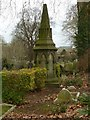 SK3435 : Derby Old Cemetery, Pike Monument by Alan Murray-Rust