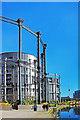 TQ2983 : Gasholder Park 2 by Des Blenkinsopp