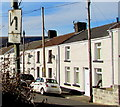 SO0901 : Old-style road sign, Moriah Street, Bedlinog by Jaggery