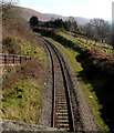 SO0901 : Single-track railway, Bedlinog by Jaggery