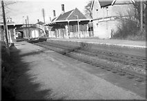 ST7082 : Yate Railway Station after closure by Martin Tester