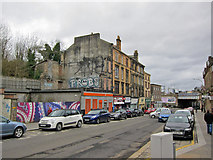 NS4864 : Moss Street, Paisley by Richard Dorrell