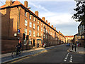 TQ3580 : Shadwell Gardens frontage to Cable Street, Shadwell by Robin Stott