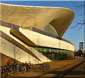 TQ3884 : Queen Elizabeth Olympic Park : London Aquatics Centre by Julian Osley