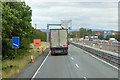 N9021 : M7 Motorway approaching Junction 9 by David Dixon