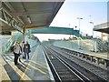 TQ1103 : Durrington-on-Sea, footbridge by Mike Faherty