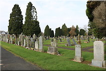 NS5036 : Galston Cemetery by Billy McCrorie