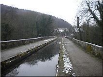 SK3155 : Derwent Aqueduct, Cromford Canal by Richard Vince