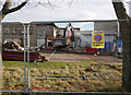 NH6646 : Former Inverness College demolition by Craig Wallace