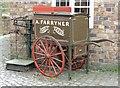 SJ6903 : Baker's cart, Blists Hill Museum by Ann