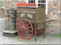 SJ6903 : Baker's cart, Blists Hill Museum by Ann