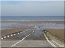 NZ6025 : Lifeboat launch ramp, Redcar by JThomas