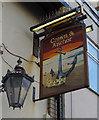 NZ6025 : Sign for the Crown & Anchor public house, Redcar by JThomas