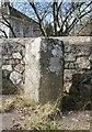 SX5076 : Old Boundary Marker by Alan Rosevear