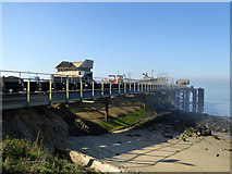 TQ7076 : Aggregates jetty, Cliffe by Robin Webster